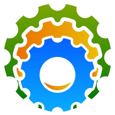 pinion: Various gear wheel, rack wheel vector graphics. Mechanics, manufacturing, industrial or maintenance, rework, repair themes.