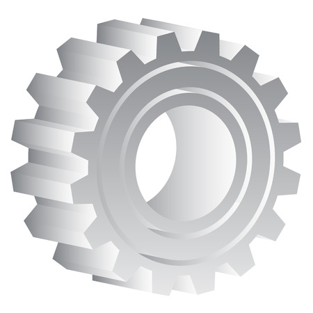 cnc: Various gear wheel, rack wheel vector graphics. Mechanics, manufacturing, industrial or maintenance, rework, repair themes.