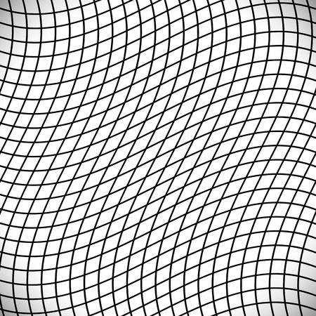 grating: Black and white abstract grid, grating pattern