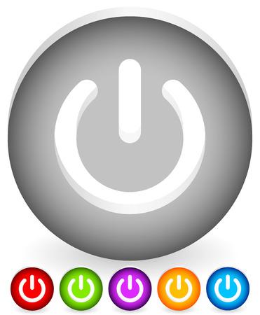 Power button, Power symbol vector graphics