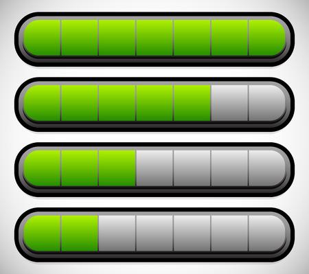 progressbar: Horizontal Progress, Loading Bars. Meters, Level Indicators.