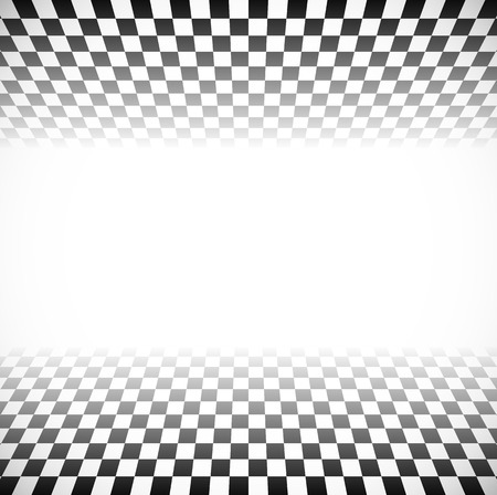 opacity: 3d Fading checkered planes with perspective. Fade effect with opacity mask, can be put on any background