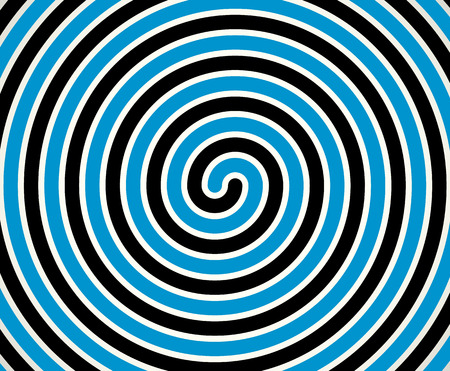 duotone: Black-blue duotone spiral  element, background. Editable vector