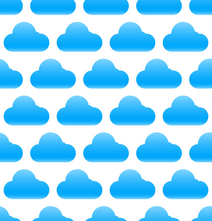 Cloud pattern. Seamlessly repeatable cloud background, cloud pattern