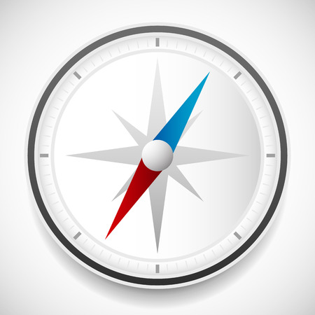 wind rose: Dial of compass with wind rose vector icon. Easy to edit.
