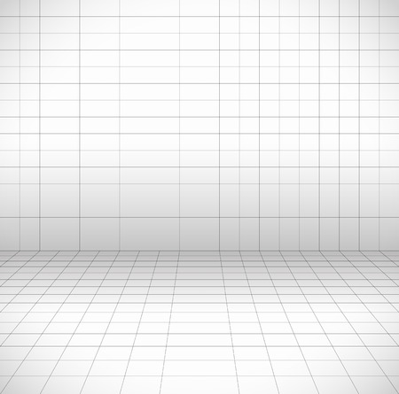 perspective grid: Blank space with perspective grid, wire frame.