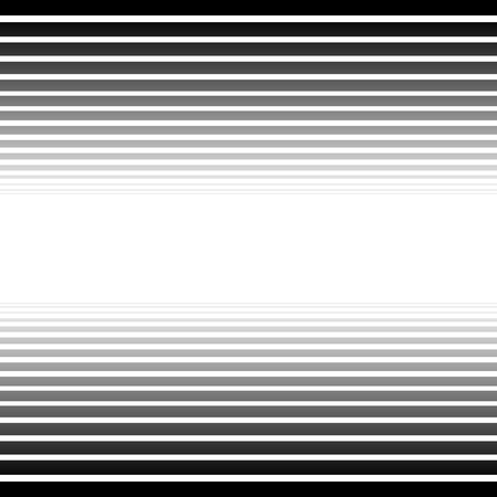 fade away: Black and white converging, fading lines abstract background. Vector. Stock Photo