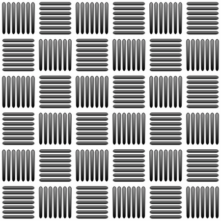 alternating: Black and white alternating bars seamlessly repeatable pattern. Vector. Stock Photo