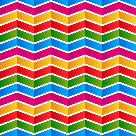 Colorful chevron background, pattern. Seamlessly repeatable. Vector.