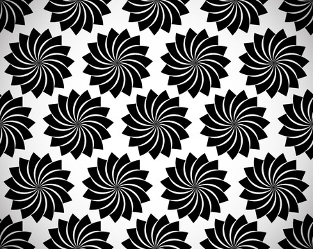 spiritually: Seamless pattern with petal shapes of a lotus flower.