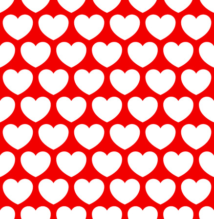 repeatable: Repeatable heart pattern, heart background.