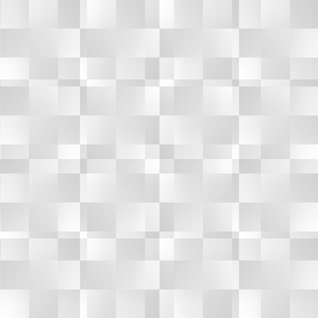 blocky: Grayscale abstract square pattern. Seamlessly repeatable vector texture.