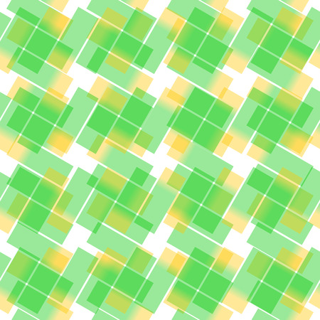 seamlessly: Stylish, fresh vector pattern  background. Seamlessly repeatable. Green and yellow colors.