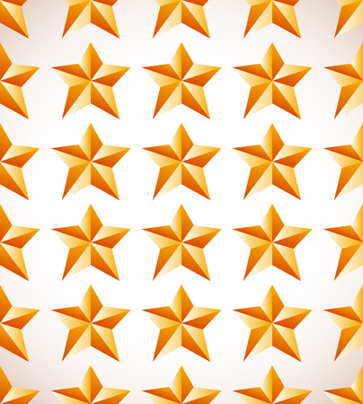 astral: Repetitive star pattern. Editable vector graphics. Stock Photo