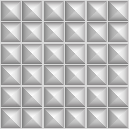 thorn tip: Studded, pointed background, seamless pattern. Vector. Stock Photo
