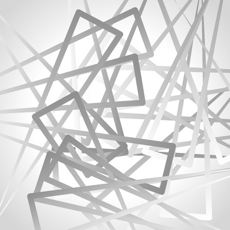 randomness: Abstract graysale image of triangle shapes. Vector.