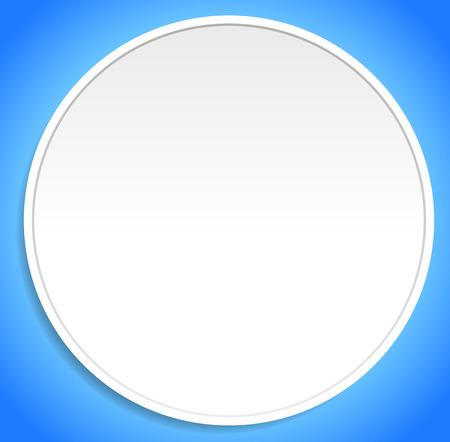Empty colorful circle shape, circle element