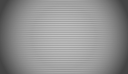 crt: Striped, empty camera  monitor background with straight parallel lines. Scanlines background. Stock Photo