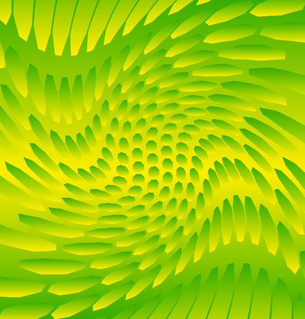 twirling: Abstract art like image with twirling, twisted distortion on vector shapes. Rotating abstract background. (Editable)