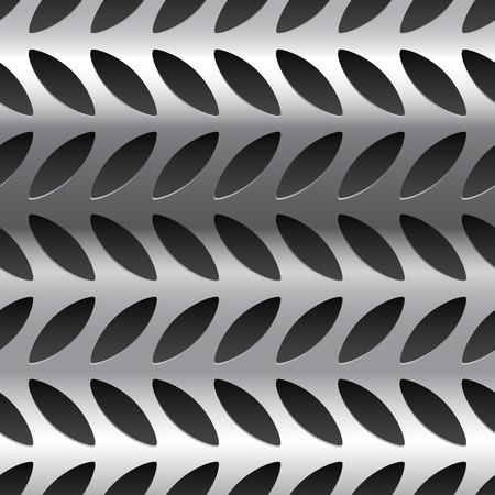 seamlessly: Diamante modello lastra di metallo, texture. Perfettamente ripetibili.