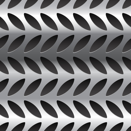 Diamond plate metal pattern, texture. Seamlessly repeatable.