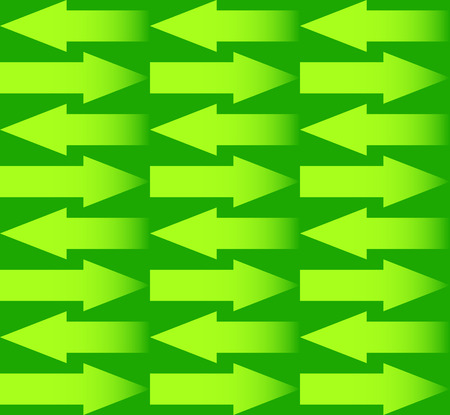 repeatable: Repeatable arrow pattern with arrows in opposite directions. Vector.