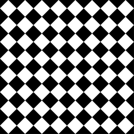 blocky: Seamlessly repeatable vector pattern. Checkered (chequered) background with tilted squares.