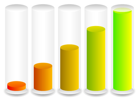 cylindrical: Cylindrical graphics for levels, fullness concepts. Progress indicators.