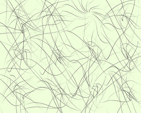 snaky: Random lines, abstract wavy lines. Artistic vector background. Illustration