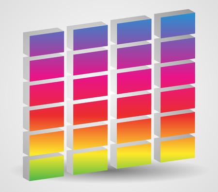 eq: Simple Eq, Equalizer graphics for multimedia, audio, music concept