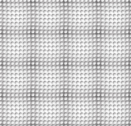 seamlessly: Grayscale circle pattern with seamlessly repeatable geometry. Editable.