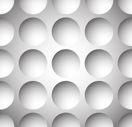 repeatable: Grayscale circle pattern with seamlessly repeatable geometry. Editable.