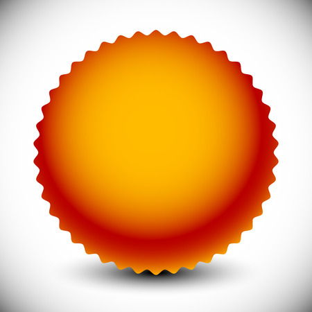 pledge: Starburst, price flash shape with radial gradient fill.