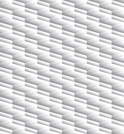grayscale: Grayscale, monochrome seamless pattern, background with 3d cubes Illustration