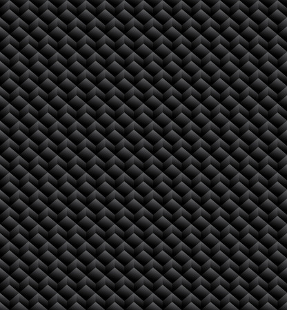 monocrome: Grayscale, monochrome seamless pattern, background with 3d cubes Illustration
