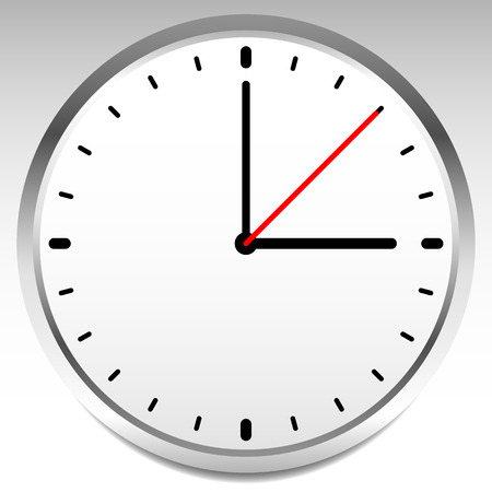 clock face: Clock vector icon for time, appointment, accuracy concepts.