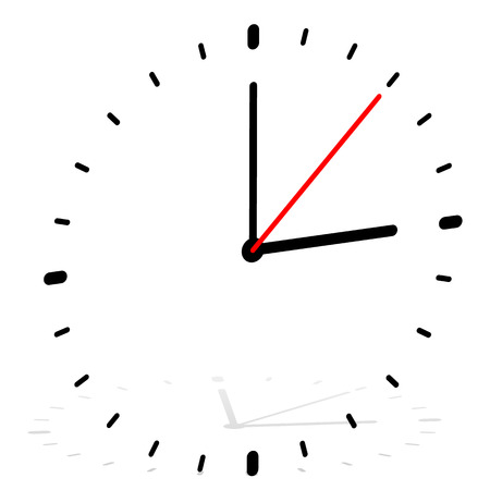 accuracy: Clock vector icon for time, appointment, accuracy concepts.