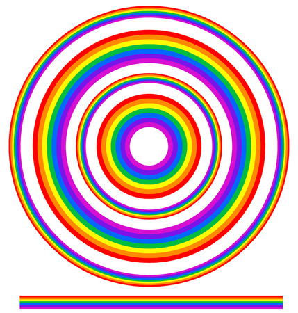 idyll: Rainbow graphics with spectrum colors