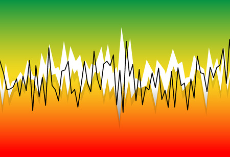 Eq, equalizer graphics for audio, playback, multimedia concepts.