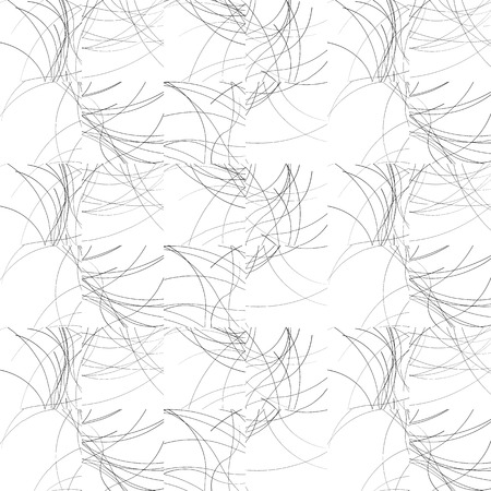 ripply: Wavy lines repeatable pattern. Black and white vector background