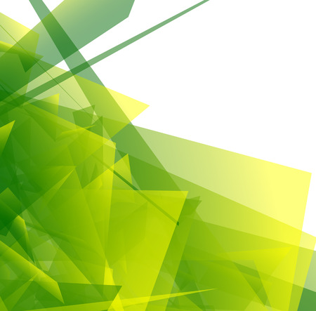 glassy: Abstract digital art with edgy shapes. Vector illustration.