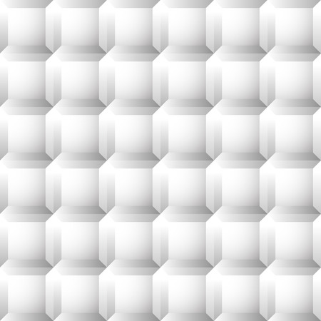 beveled: Seamless, repeatable patterns with beveled squares. Abstract grayscale, monochrome revetment background. vector. Illustration