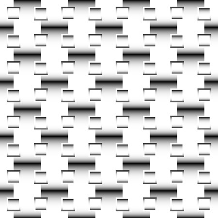 seamlessly: Squares abstract geometric pattern. Grayscale, seamlessly repeatable checkered pattern with alternating squares.