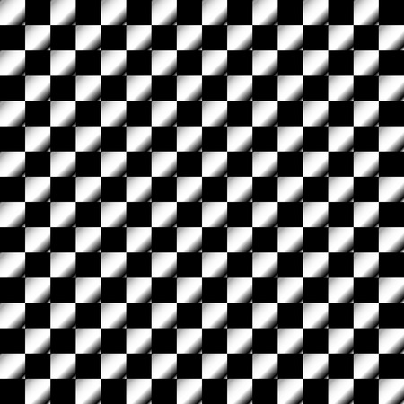 classic contrast: Squares abstract geometric pattern. Grayscale, seamlessly repeatable checkered pattern with alternating squares.
