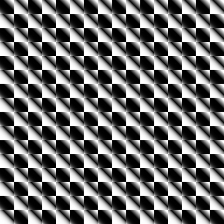 black floor: Squares abstract geometric pattern. Grayscale, seamlessly repeatable checkered pattern with alternating squares.
