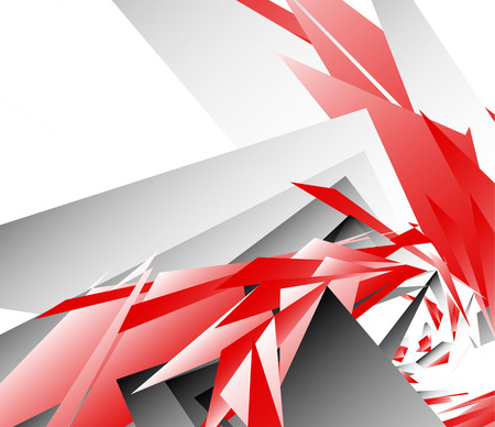 edgy: Abstract digital art background, pattern with shattered, edgy shapes.