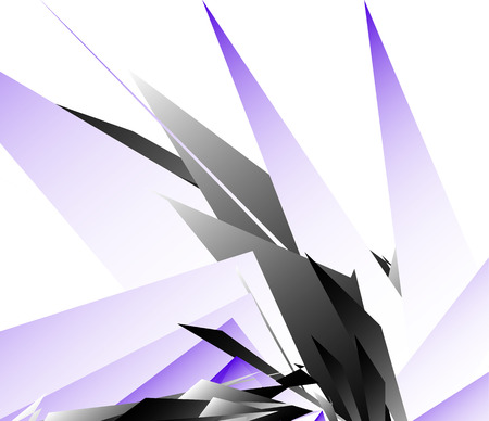 sharpness: Abstract digital art background, pattern with shattered, edgy shapes.