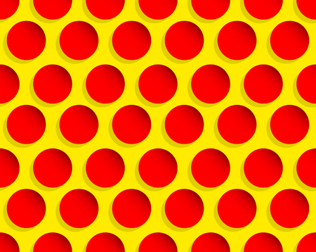 seamlessly: Dotted pop art like background, pattern. Seamlessly repeatable. Illustration