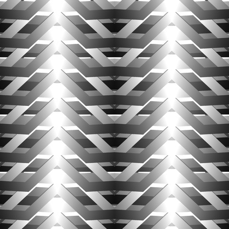 randomness: Abstract grayscale, black and white geometric pattern. editable vector.