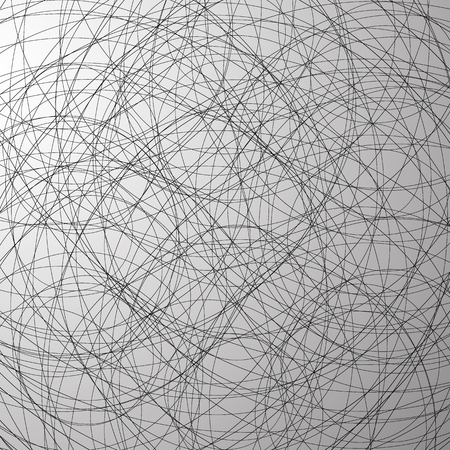 curving: Grayscale abstract vector texture with intersecting lines.